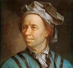 Leonhard Euler (1707 – 1783) Um dos maiores e mais prestigiados matemáticos XVII e de toda a história.